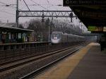 Acela Power Railcar 2034 Leads A Southbound Train To Trenton/Washington