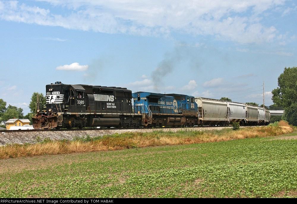 NS 3320 on NS 303
