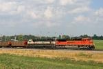 BNSF 9168 on NS 863