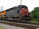 Lead unit on B&P Southbound going through Bradford PA