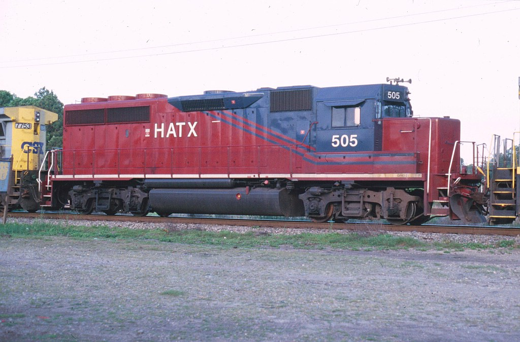 HATX 505 on SB freight