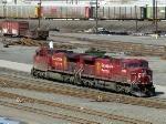 CP GE AC4400CW's 9734 & 9636