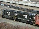 NS EMD SD45-2's working Oak Island