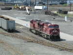 Canadian Pacific power at Oak Island
