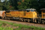 UP 9519 on CSX SB freight