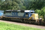 CSX 8127 on NB freight