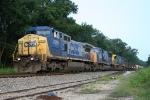 NB empty rock train (K922?)