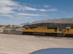 UP 4457 leads a WB light power move at 12:27pm