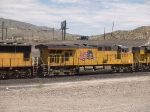 UP 5257 #3 power in a WB doublestack at 1:18pm