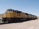 UP 4444 leads an EB doublestack ITSDI-17 (Long Beach ITS - Dallas intermodal) at 1:07pm