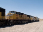 UP 4615 #2 power in an EB doublestack ITSDI-17 (Long Beach ITS - Dallas intermodal) at 1:07pm
