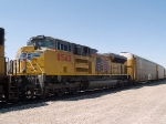 UP 8543 #3 power in an EB doublestack ITSDI-17 (Long Beach ITS - Dallas intermodal) at 1:07pm