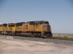 UP 5104 leads an EB autorack at 12:32pm
