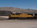 UP 4047 leads a WB autorack at 12:21pm