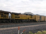 UP 9564 #2 power in a WB manifest at 11:27am