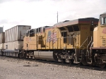 UP 5312 #3 power in a WB KATLB doublestack at 10:06am