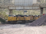 UP 8052 leads a WB IG3LB doublestack at 10:40am
