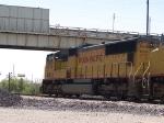 UP 4374 leads an EB grain train at 11:35am