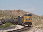 UP 5290 leads an EB manifest MWCFW at 12:10pm