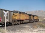 UP 6619 #1 rear DPU in a WB coal train at 1:38pm