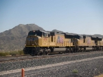 UP 4791 leads a WB manifest at 11:22am