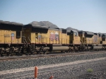 UP 5133 #3 power in a WB manifest at 11:22am