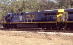 CSX 607 leading Q105 early in the morning