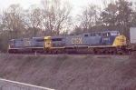 CSX Q102 with brand new AC6000
