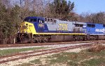CSX 638 leading Q101