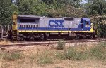 CSX 7640 on NB freight