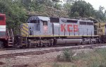 KCS 600 on NB feight