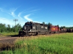 IC 6252 leads ore loads towards Fairlane
