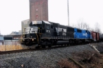 Norfolk Southern & a rebadged Conrail engine