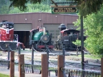 Black Hills Central Locomotives Give the Yard Some Color