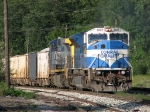 CSX 4601 & 239 slowly roll up to the yard with K910-04