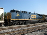 Freshly painted CSX 494