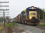 CSX 8450 leads Q326-21 eastward