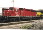 This former CP SD40-2 now wears the markings of its competitor.  Seen on the NYS&W