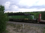 BNSF 6785 Ex/ BN SD40-2