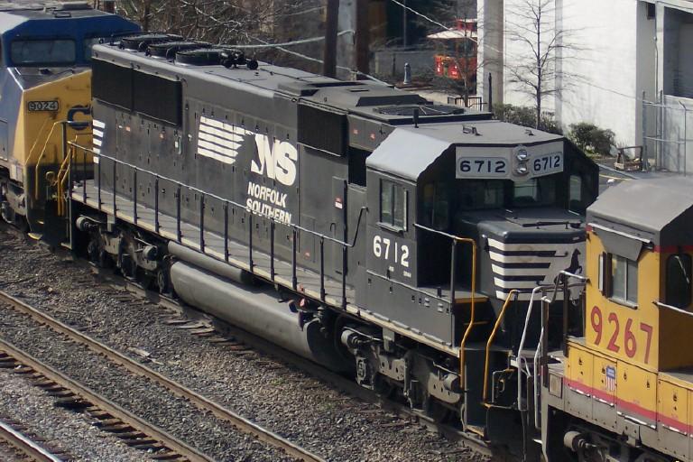 Closeup of NS 6712