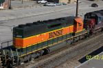 Close up of BNSF 6829