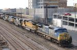 Mixed bag of power on CSX train S669