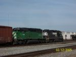 FURX 8129 on northbound NS freight
