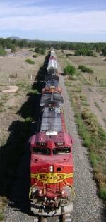 BNSF 734 Leads M-DENKCM