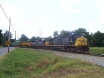 CSX 72 Coupled Elephant style with 2 EMD's