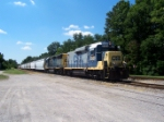 CSX 2323. Ex CE&I and L&N GP30.