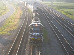 HLCX Units Leading A Train