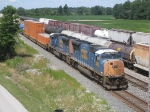 Two SD70Macs On An Eastbound