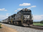 NS 8792 Leading Southbound
