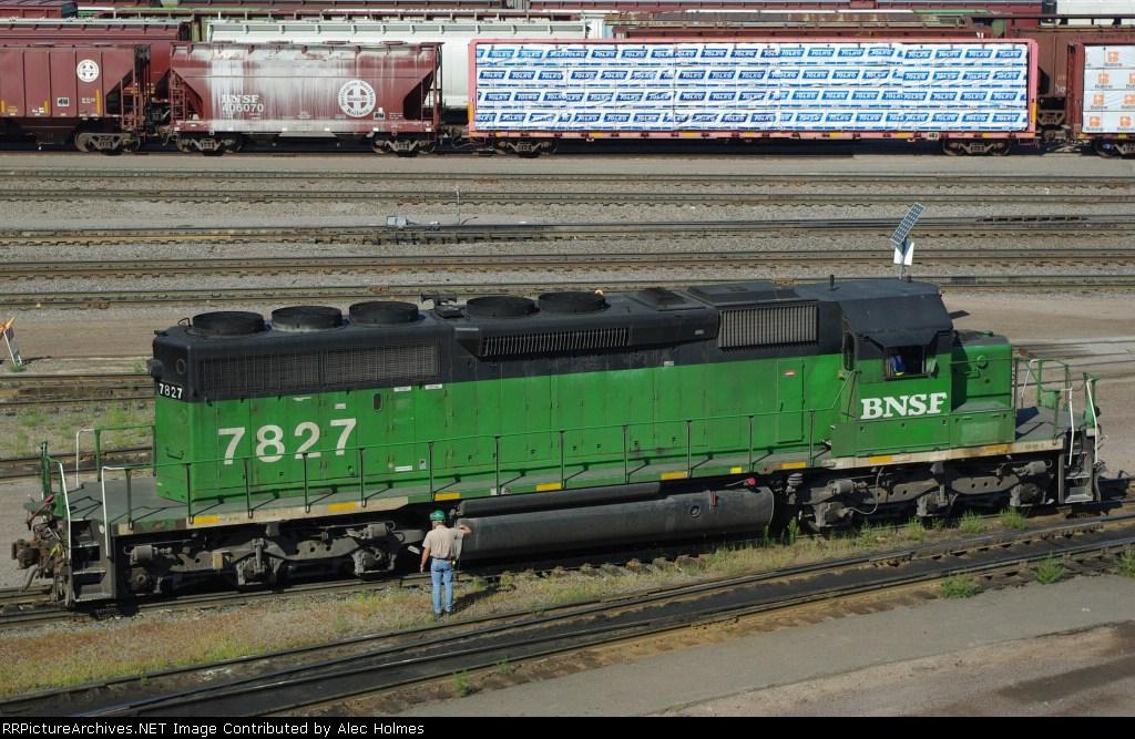 BNSF 7827